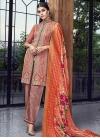 Art Silk Pant Style Classic Salwar Suit - 1
