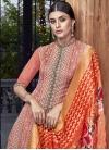 Art Silk Pant Style Classic Salwar Suit - 2