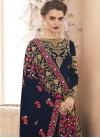 Faux Georgette Floor Length Anarkali Salwar Suit - 2