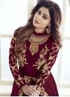 Shamita Shetty Faux Georgette Pant Style Designer Salwar Suit - 1