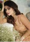 Shamita Shetty Kameez Style Lehenga - 1
