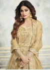 Shamita Shetty Net Kameez Style Lehenga Choli - 1