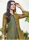 Art Silk Floor Length Gown - 1