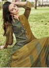 Art Silk Floor Length Gown - 2