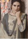 Digital Print Work Crepe Silk Palazzo Style Pakistani Salwar Kameez - 1