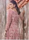 Crepe Silk Digital Print Work Palazzo Style Pakistani Salwar Suit - 1