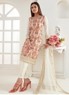 Embroidered Work Pant Style Classic Suit - 1