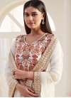 Embroidered Work Pant Style Classic Suit - 2
