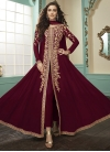 Floor Length Designer Suit For Party - 1