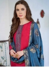 Embroidered Work Pant Style Pakistani Salwar Kameez - 1