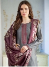 Pant Style Pakistani Salwar Suit For Ceremonial - 1