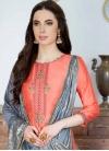 Cotton Silk Pant Style Pakistani Salwar Kameez - 1