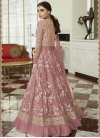 Net Floor Length Designer Suit For Ceremonial - 1