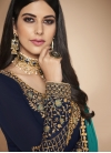 Faux Georgette Trendy Pakistani Salwar Kameez - 1