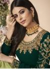 Faux Georgette Pakistani Straight Salwar Suit - 1