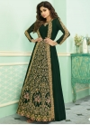 Shamita Shetty Faux Georgette Jacket Style Salwar Kameez For Ceremonial - 2