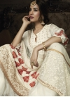 Faux Georgette Palazzo Straight Salwar Suit - 2