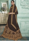 Embroidered Work Layered Designer Anarkali Suit - 2