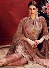 Embroidered Work Pant Style Designer Suit - 2