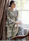Embroidered Work Sharara Salwar Suit - 2