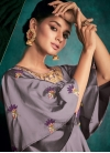 Tafeta Silk Embroidered Work Readymade Trendy Gown - 1
