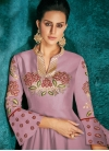 Tafeta Silk Readymade Classic Gown - 1