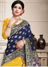 Woven Work Banarasi Silk A Line Lehenga Choli - 1