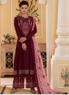 Cotton Satin Readymade Salwar Suit For Festival - 2