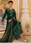 Embroidered Work Readymade Designer Salwar Suit - 2