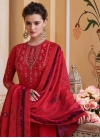 Embroidered Work Readymade Designer Suit - 2