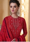 Embroidered Work Readymade Designer Suit - 1