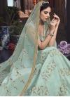 Embroidered Work Anarkali Salwar Kameez - 1