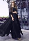 Jacket Style Salwar Kameez For Festival - 1