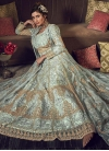 Net Jacket Style Salwar Kameez - 2