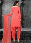 Crepe Silk Punjabi Salwar Kameez For Casual - 1