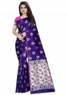 Thread Work Traditional Designer Saree - 1