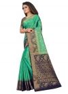 Woven Work Jacquard Silk Trendy Classic Saree - 1