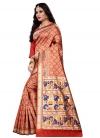 Cotton Silk Designer Contemporary Style Saree - 2