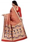 Cotton Silk Designer Contemporary Style Saree - 1