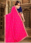 Embroidered Work Trendy Classic Saree - 1