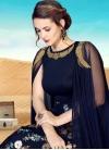 Satin Silk Cutdana Work Readymade Designer Gown - 1