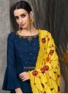 Cotton Silk Readymade Long Length Gown - 1