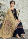 Palazzo Style Pakistani Salwar Kameez For Ceremonial - 1