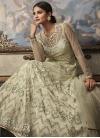 Net Long Length Anarkali Salwar Suit For Party - 1