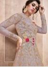 Net Floor Length Anarkali Salwar Suit For Festival - 1
