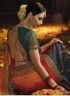 Designer Half N Half Saree For Bridal - 1