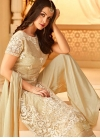 Embroidered Work Palazzo Style Pakistani Salwar Kameez - 2