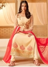 Faux Georgette Trendy Pakistani Salwar Kameez For Ceremonial - 1