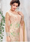 Faux Georgette Beads Work Long Length Pakistani Salwar Suit - 2
