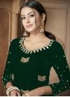 Velvet Beads Work Pant Style Designer Salwar Kameez - 1